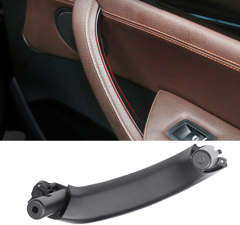 Manija de reposabrazos de coche Base de Asa puerta derecha tirador Interior embellecedor para BMW F25 F26 X3 X4 51419209214 51419209216