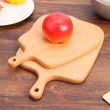 Деревянные Разделочные Блоки, буковая пицца, хлеб, фрукты, подвесная разделочная доска, Нескользящие кухонные инструменты, аксессуары
