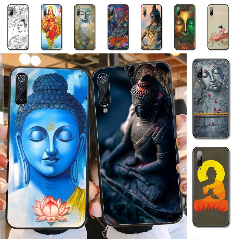 YNDFCNB India Buddha Phone Case for Xiaomi mi 9 8 10 5 6 lite F1 SE Max 3 2 mix 2s