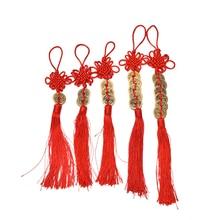 12Styles Feng Shui richesse rouge chinois noeud cuivre pièces Ancien succès porte-bonheur maison voiture décoration pour enfants enfants