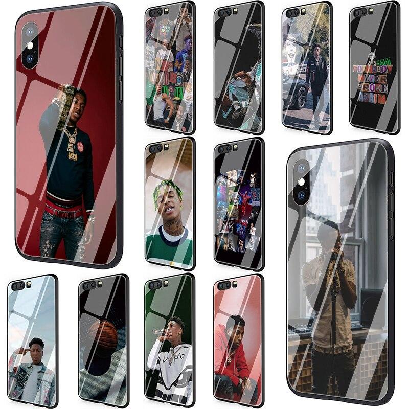 Youngboy nunca se rompió de nuevo Merch 38 funda de vidrio templado para Huawei P10 P20 P30 amigo 20 Honor 9 10 Lite Pro 7A 8X P Smart