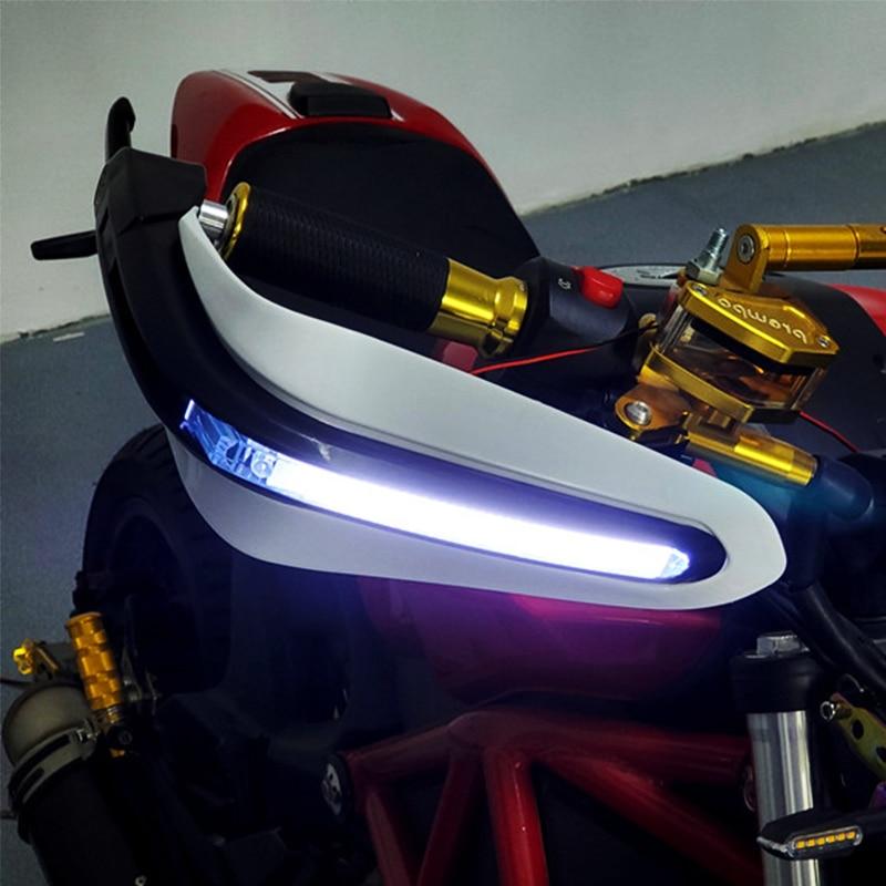 "Motocicleta Motocross Dual carretera doble deporte Super Moto 7/8 ""22mm guardamanos para virago 750 990 superduke pcx zx14 sombra 600 vlx"