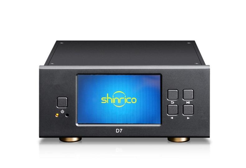 R-005XRK SHINRICO D7 24bit 192K Digital Turntable Output SACD/DSD/HIFI lossless Music Player AC110V/220 Input