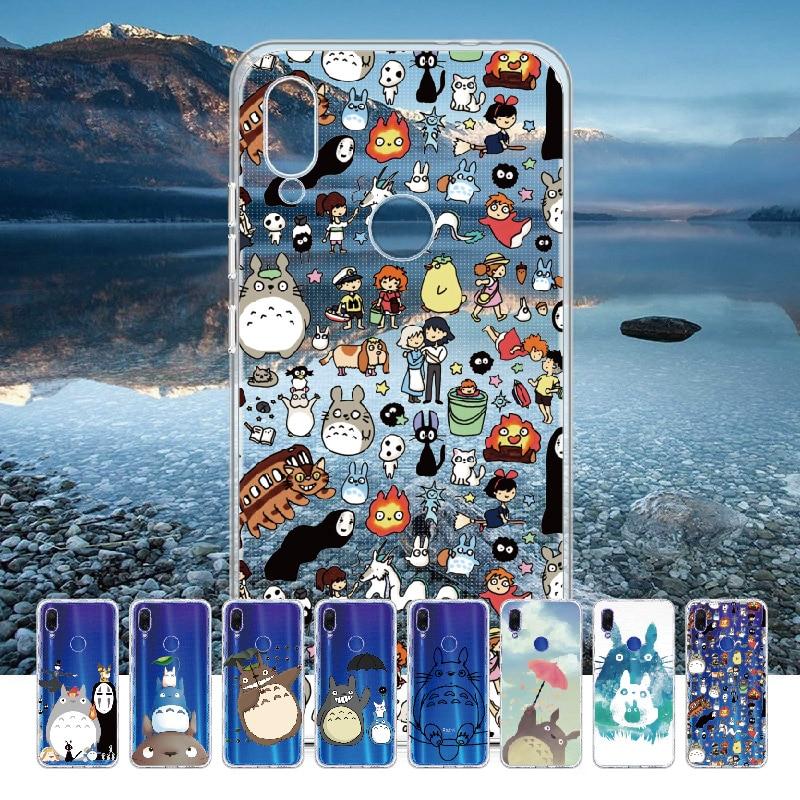 Totoro Spirited Away Ghibli Kaonashi For Xiaomi Mi Redmi Note 5 6 7 8 9 10 LITE Pro Plus Soft TPU Sl