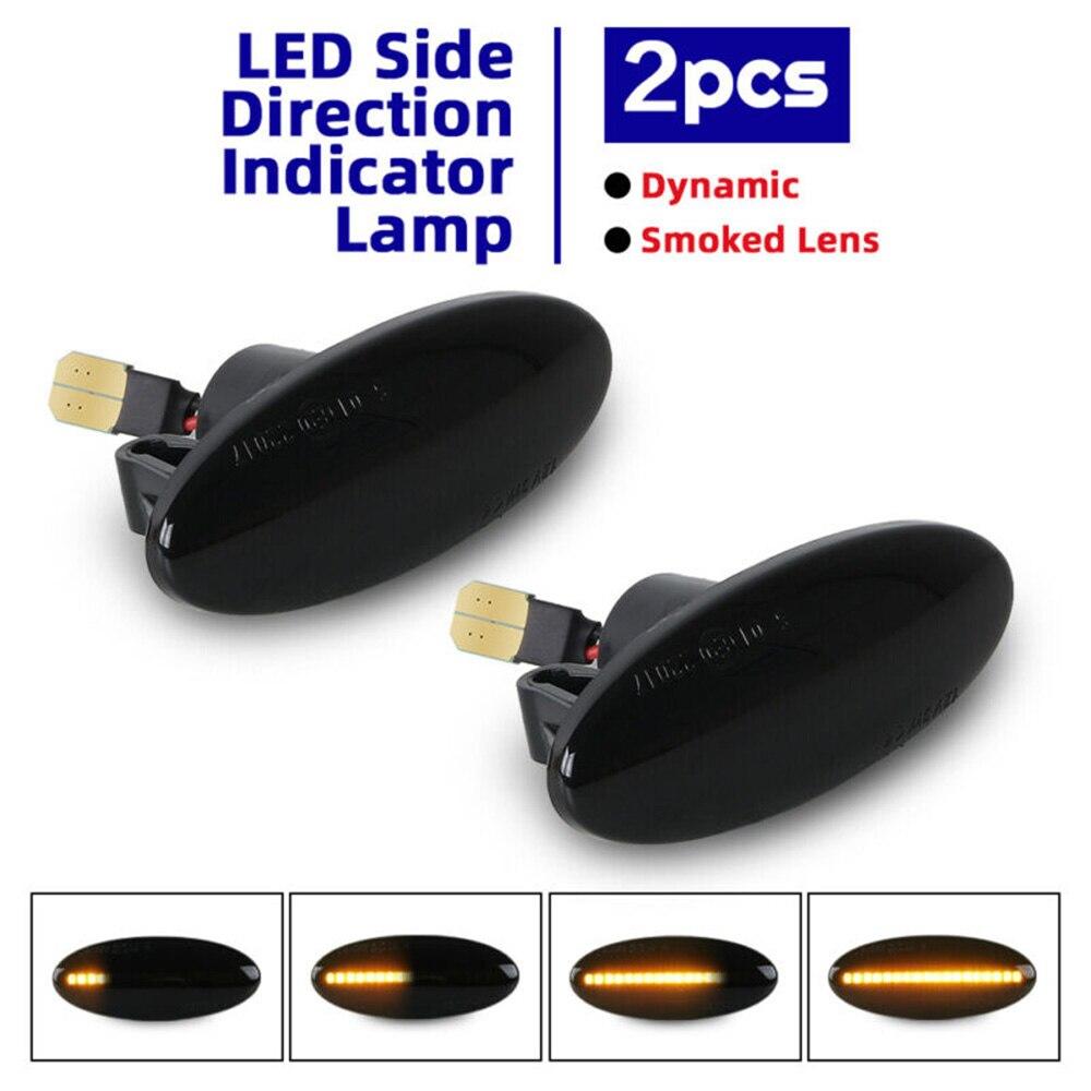 2pcs 3528SMD Car Turn Signal Light For Nissan Leaf Juke Qashqai Cube Xtrail Mercedes Smart Fortwo W453 C453 2014 Signal Light