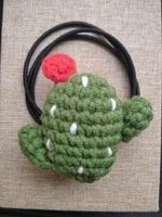 1pcsplant hair circle rubber string girls hair rope high elastic leather band handmade plant hair accessories diy gift headwear