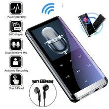 M13 bluetooth BT MP3 MP4 odtwarzacz 8 GB/16 GB/32 GB/64 GB fm radio z nagrywaniem HIFI mediów głośniki muzyczne ekran dotykowy