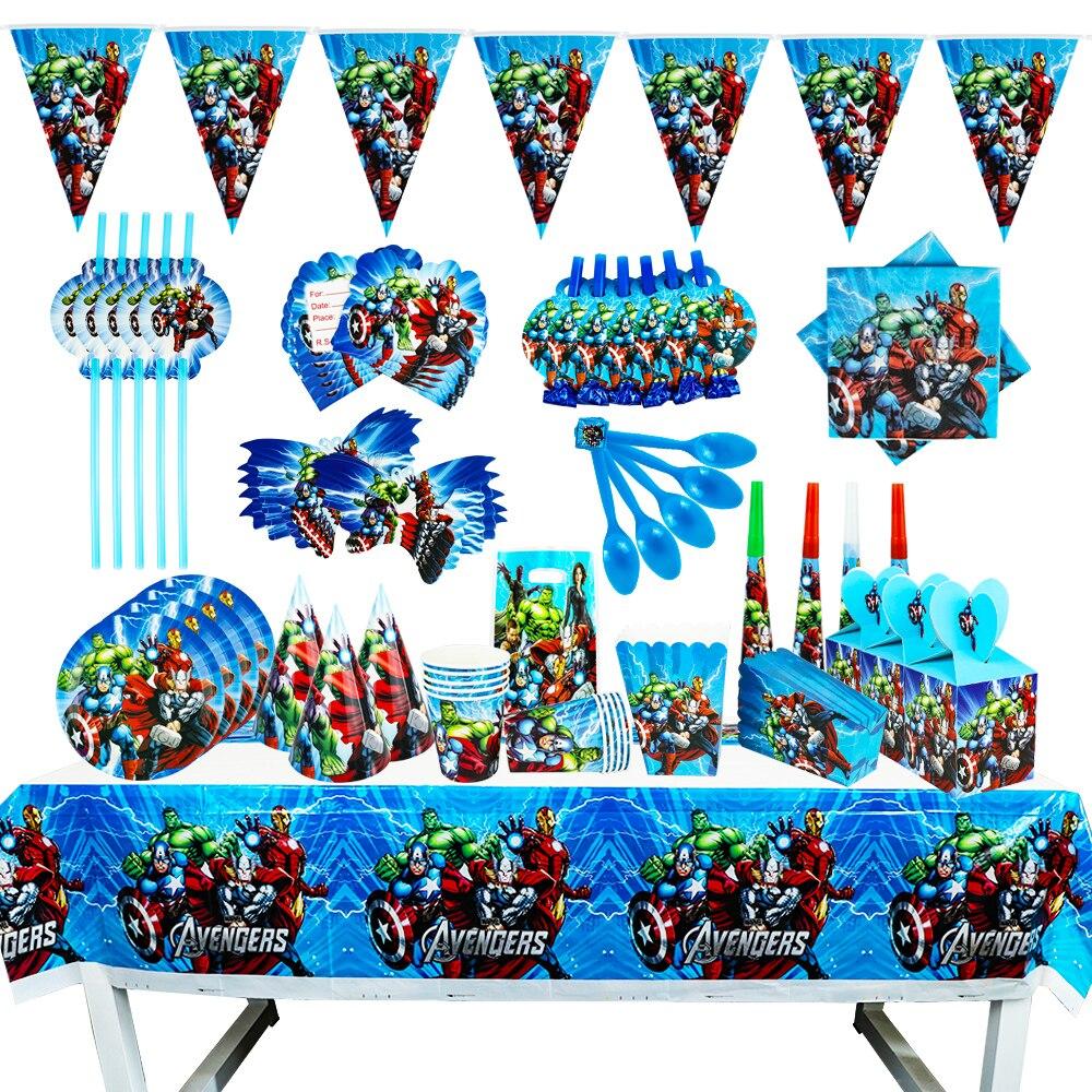 the-avengers-design-boys-decorazioni-per-feste-di-compleanno-palloncini-bicchieri-di-carta-piatti-baby-shower-articoli-per-la-tavola-usa-e-getta