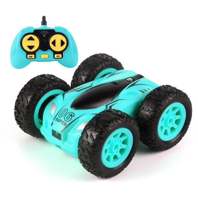 سيارة التحكم عن بعد على الوجهين سريع صغير RC حيلة سيارة ، 2.4GHz RC عالية السرعة سباق السيارات ، الأطفال سيارة لعبة بريموت كنترول للبنين والبنات
