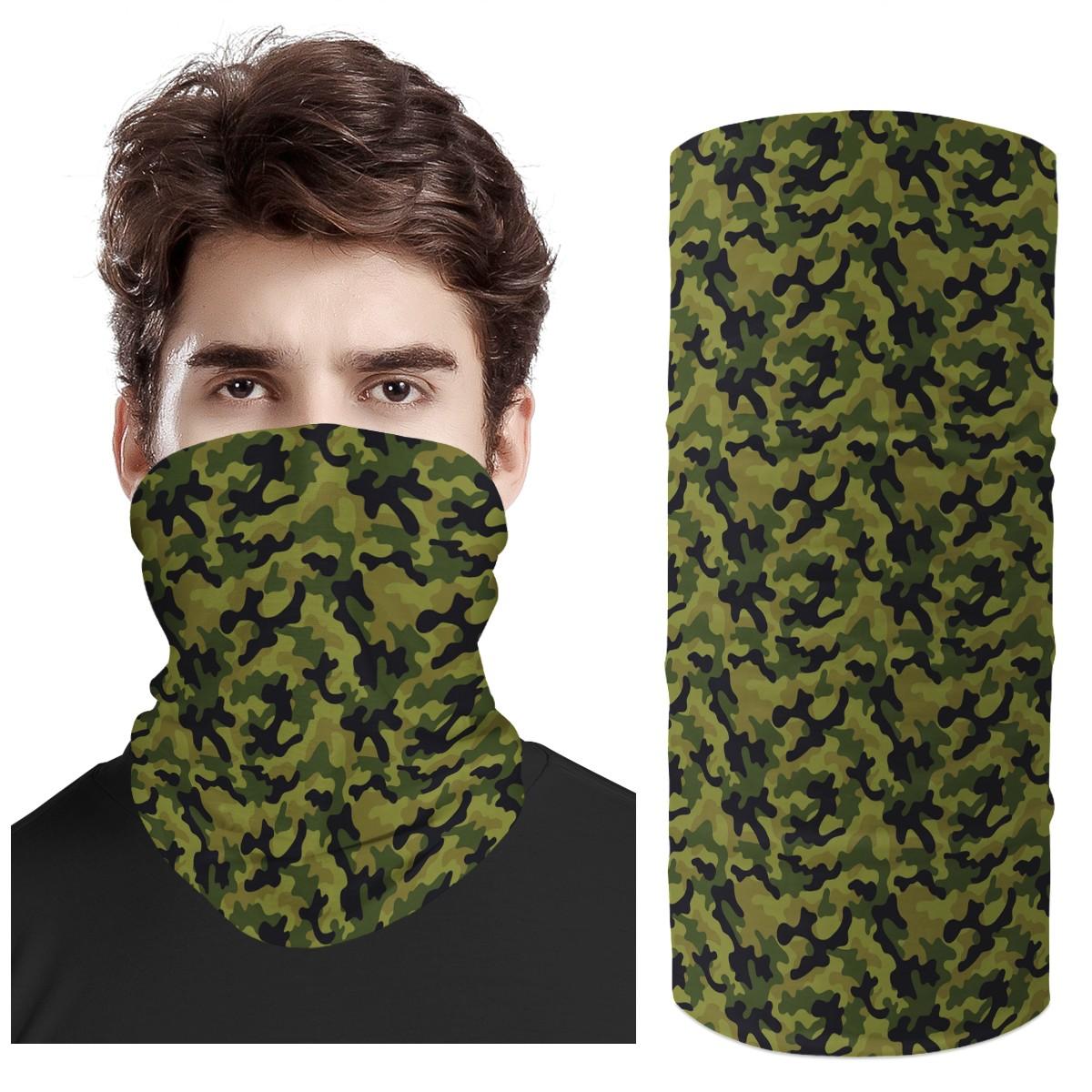 New Arrive Fashion Custom Design Camouflage Camo 3D Print Fashion Scarf Customer Drop Shipping Whole