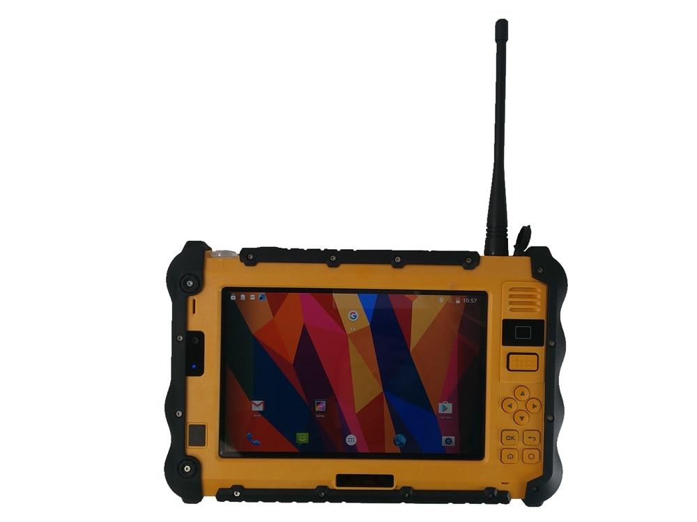 2021 original P2 Rugged Android Tablet PC Industrial Waterproof DMR UHF PTT Walkie talkie Radio 7