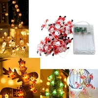 christmas decoration led fairy lights battery box powered 2m 20led christmas decorations 2021 garland lights adornos de navidad
