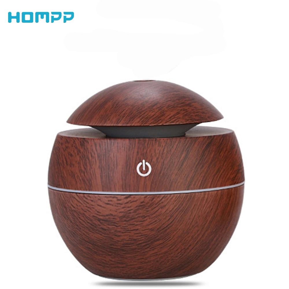 USB difusor de Aroma de aire Mini humectación humidificador ultrasónico 130ml BPAFree para la oficina en casa dormitorio sala de estudio de Yoga