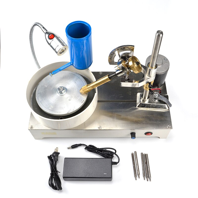 2020 110v-240v gem faceting máquina jóias polisher jade moedor plano 1800rpm gem instrumentos instrumentos de análise de medição