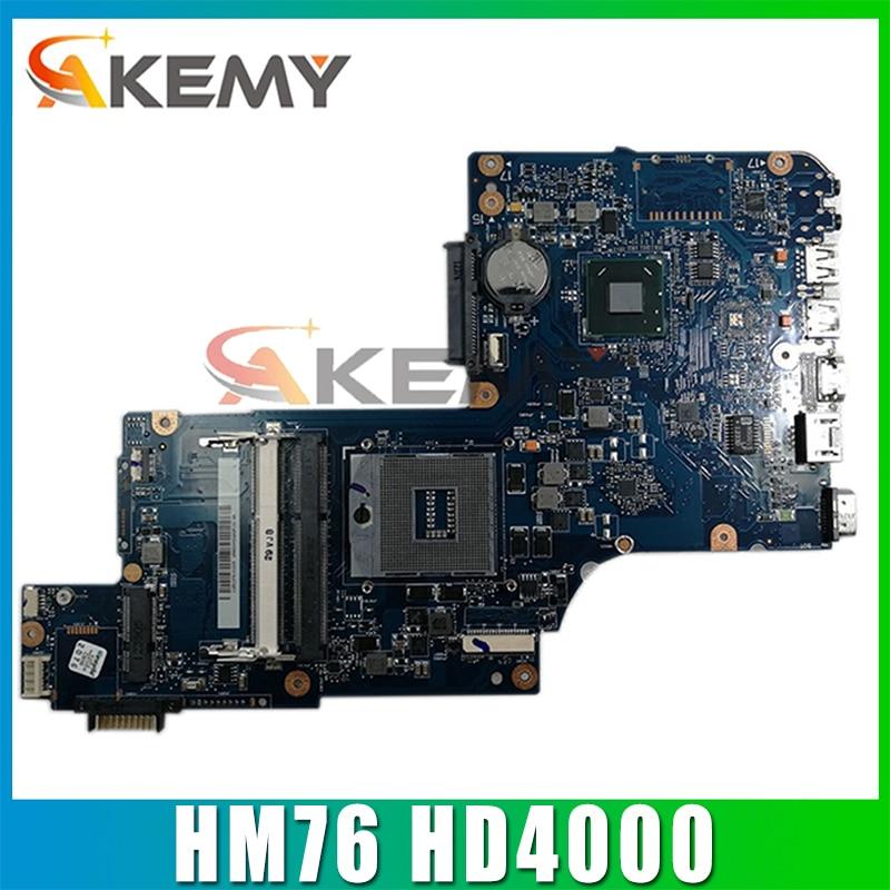 AKEMY H000043480 لأجهزة الكمبيوتر المحمول توشيبا الأقمار الصناعية L870 C870 L875 اللوحة الأم 17.3 بوصة HM76 HD4000 الرسومات