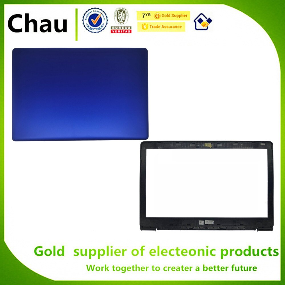 New For Dell Inspiron 15E N3 3580 3582 3583 3585 LCD Back Cover LCD Front Bezel Cover LCD Hinges LCD Cable 0DG4Y3