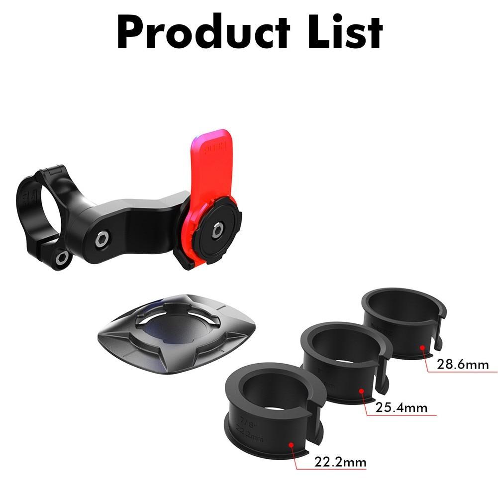 Clip Bike Phone Bracket Road Electric Rotatable For IPhone Stem Holder