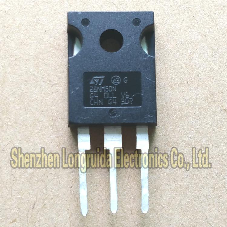 10PCS 28NM50N 28A STW28NM50N PARA-247 MOSFET TRANSISTOR 500V