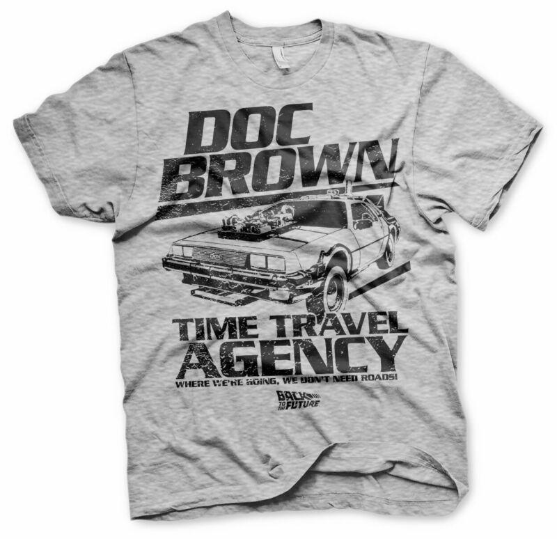 Camiseta Herren de nuevo al futuro Doc Brown McFly lizenziert