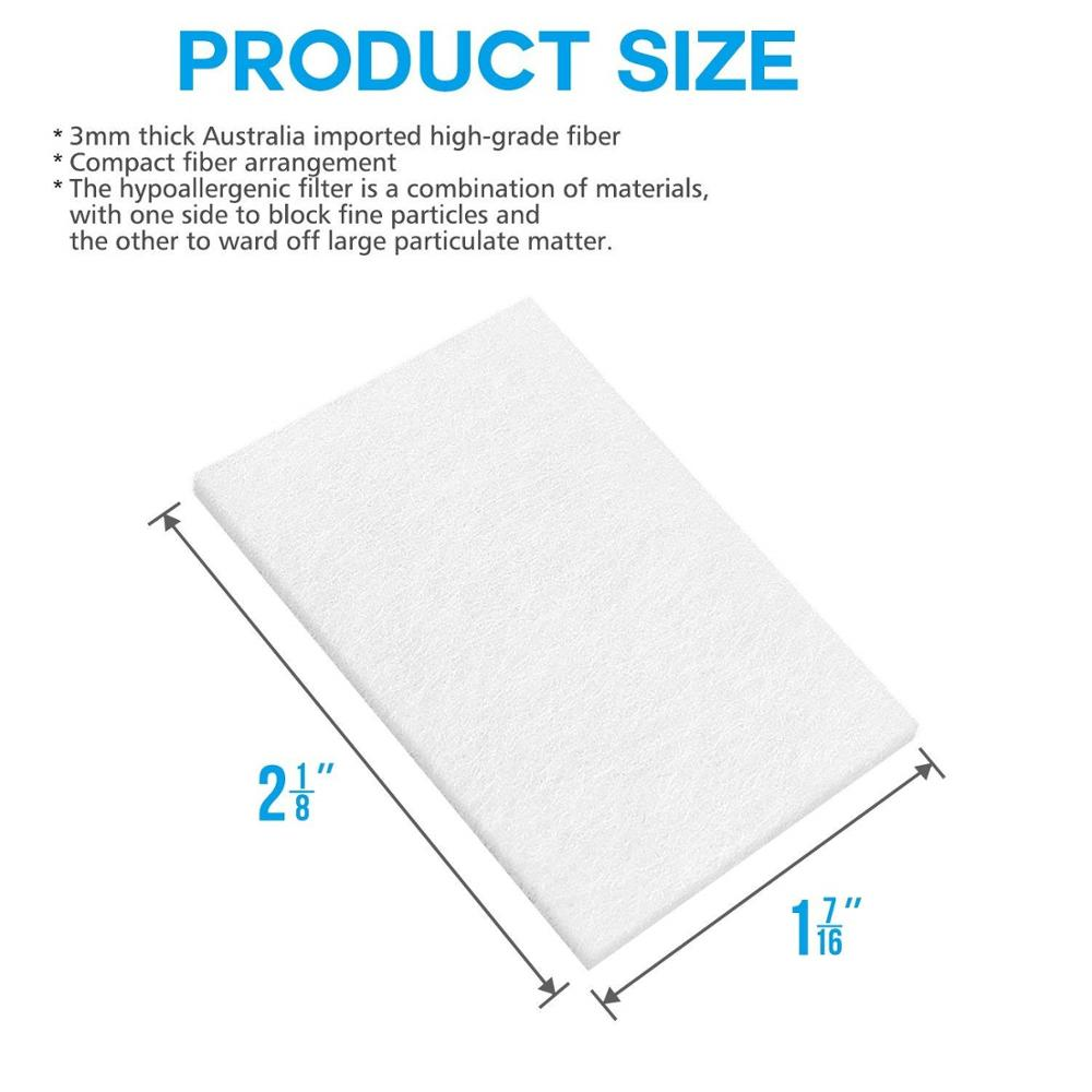 20pcs Disposable Universal Replacement Filters Disposable Cotton Filter For ResMed S9/S10