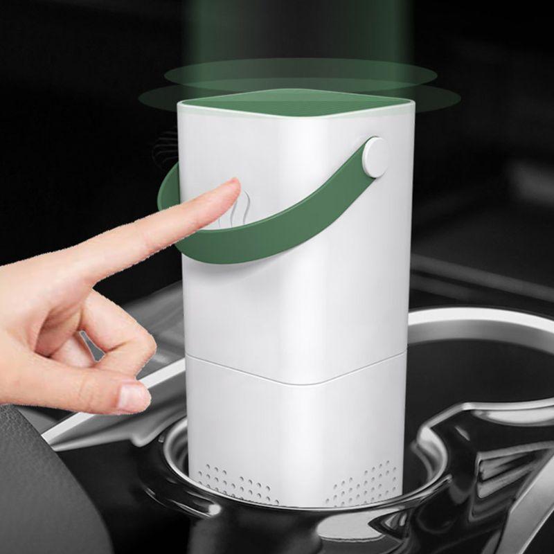Mini Anion Car Air Purifier Personal Desktop Air Purifier For Home Office
