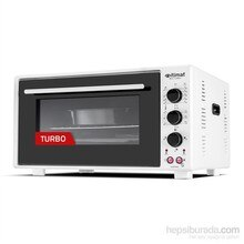 İtimat Timerli Thermostat Oven Turbo Fan White
