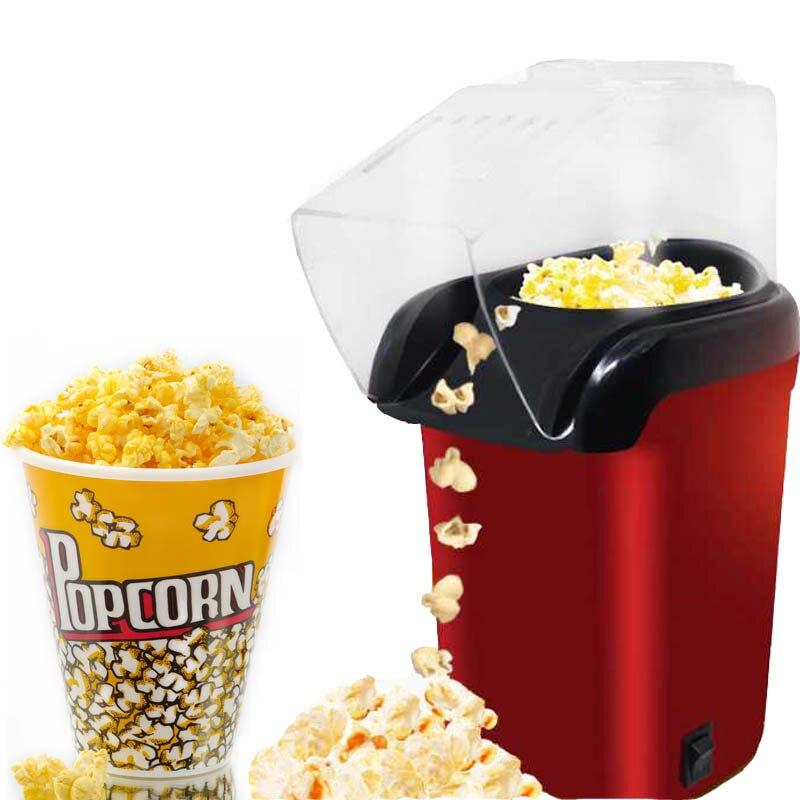 Hogar 1200W Máquina Eléctrica de palomitas de maíz automática Mini máquina de hacer palomitas de maíz DIY 110V 220V regalo para niños