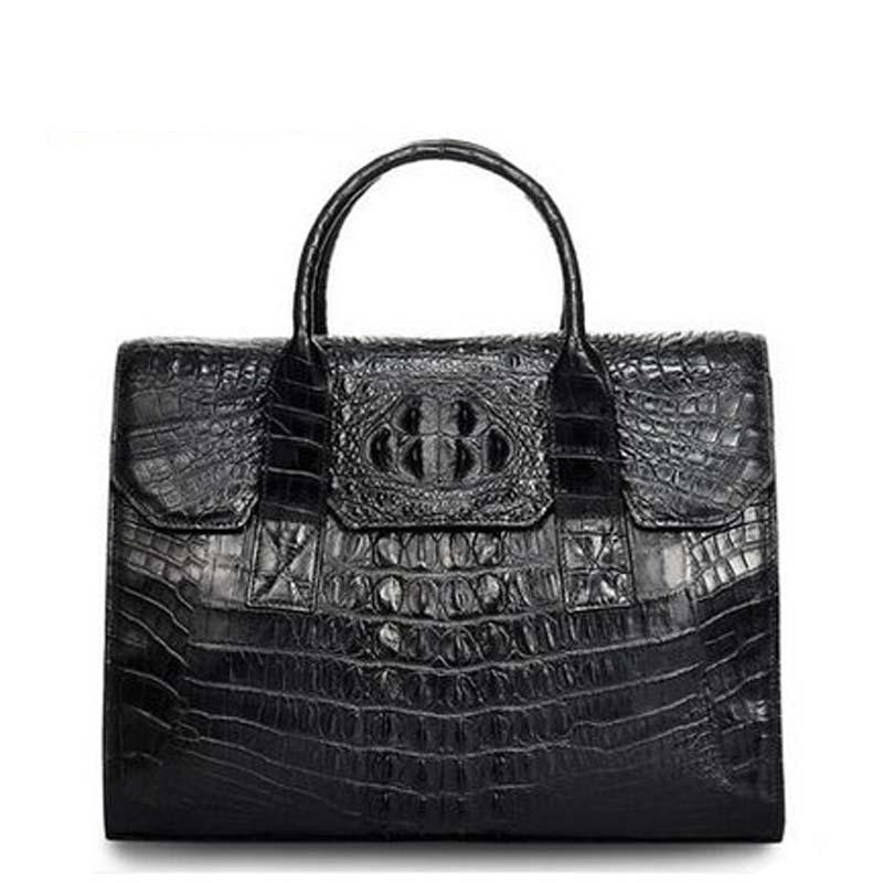 cestbeau new arrival men handbag men crocodile handbag casual  man briefcase new arrival  men crocodile leather handbag