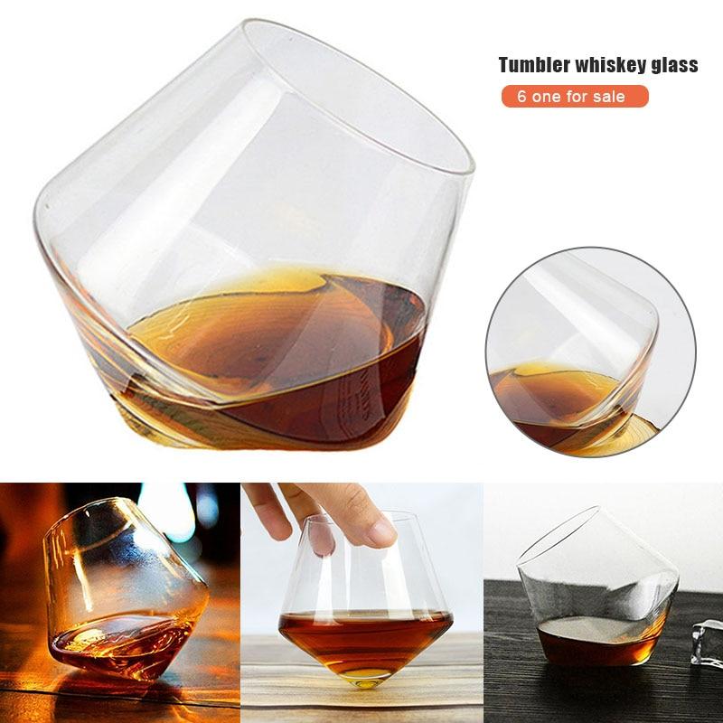 Pack von 6 400ML Wein Glas Whisky Gläser Trinken Becher Rum Wein Tasse Glas WHShopping