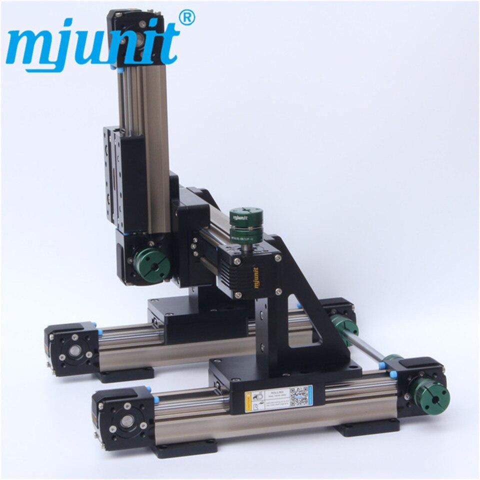 خط إنتاج mjunit غير قياسي مخصص وحدة الشريحة الخطية 3 محور الحركة XYZ العملاقة الغراء الرش والاستغناء