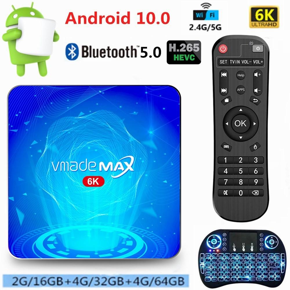 Android 10 Smart TV Box Allwinner H616 16GB 32GB 64GB 6K Ultra HD TVBOX 2.4/5G WiFi Google TV Receiv