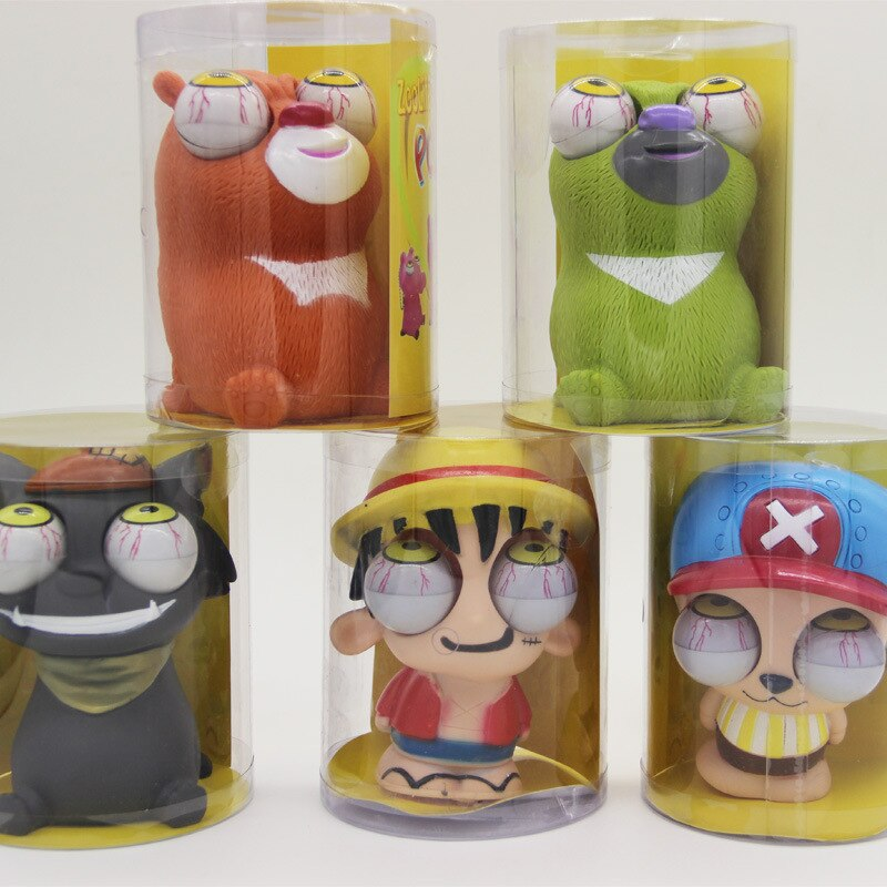 Vent Spoof глаз для игрушки, волчонок один кусок мульти-мультфильм Trick Winking Doll Toy