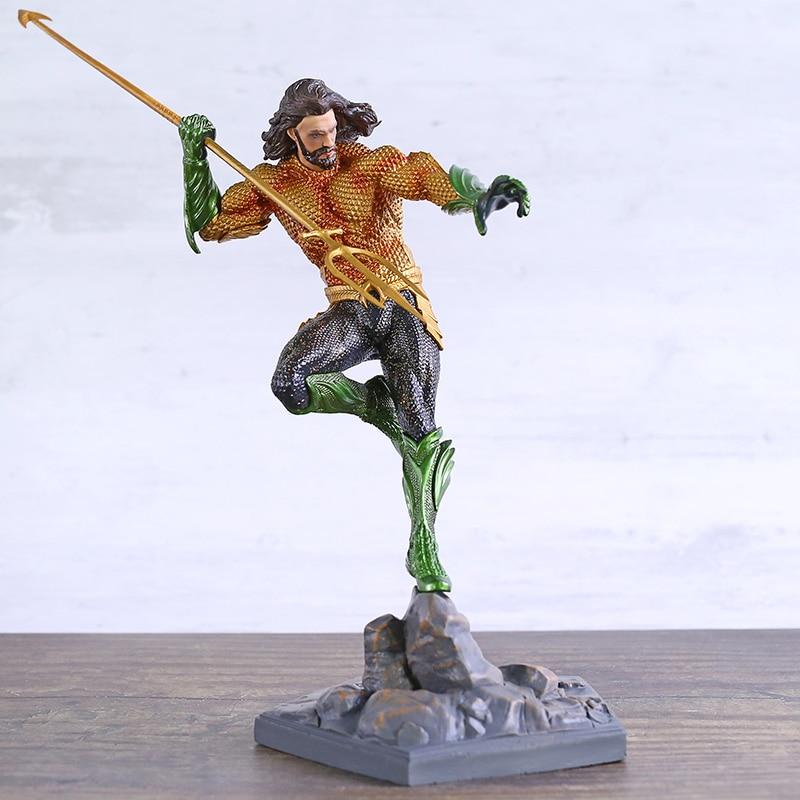 Hierro estudios aquamán superhéroe PVC figura Figura coleccionable modelo de juguete