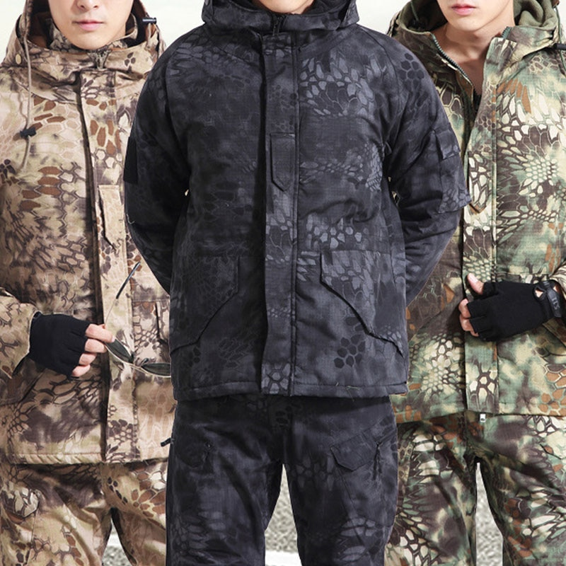 Men Outdoor G8 Airsoft Hunting Suit Jacket Set with Pants Camouflage Military Army Tactical Uniform Combat Pants Hunting Clothes outdoor m65 tactical airsoft jacket suits camouflage jacket set men army hunting jackets military waterproof jacket windbreaker