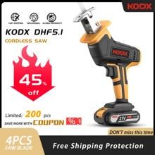 KODX – scie alternative sans fil, scie Sabre, scie à chaîne, vitesse réglable, 21V