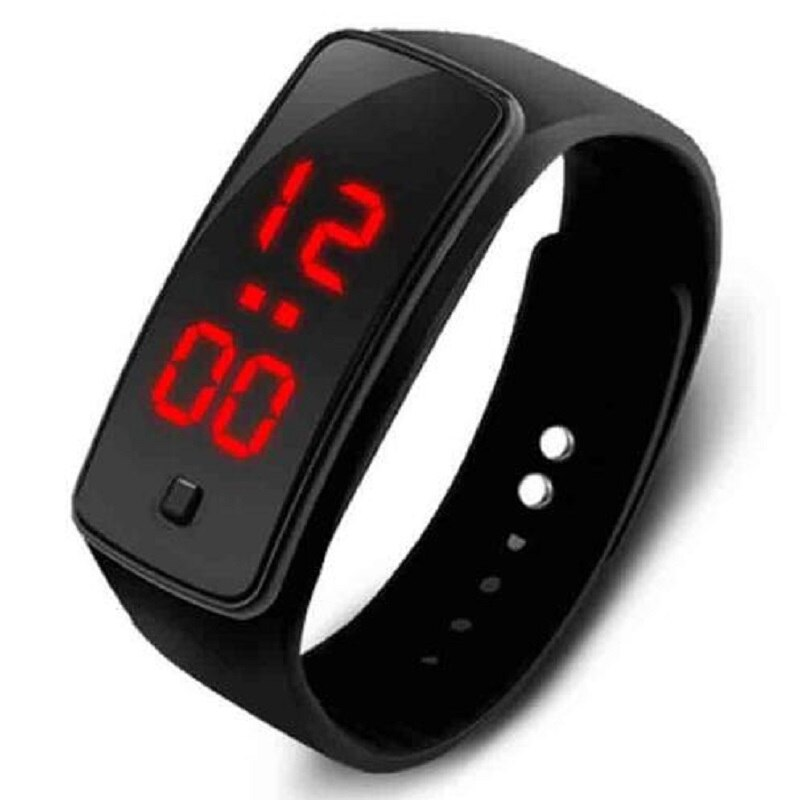 Men Women Digital Led Sport Watch Casual Silicone Watches Wristwatch Bracelet Relogio Masculino Cloc