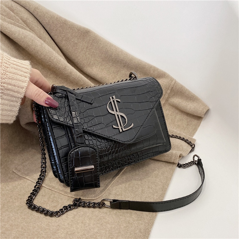 Famous Brand Luxury Handbags Women Bags Designer Lady Classic Plaid Shoulder Crossbody Bags pu Leath