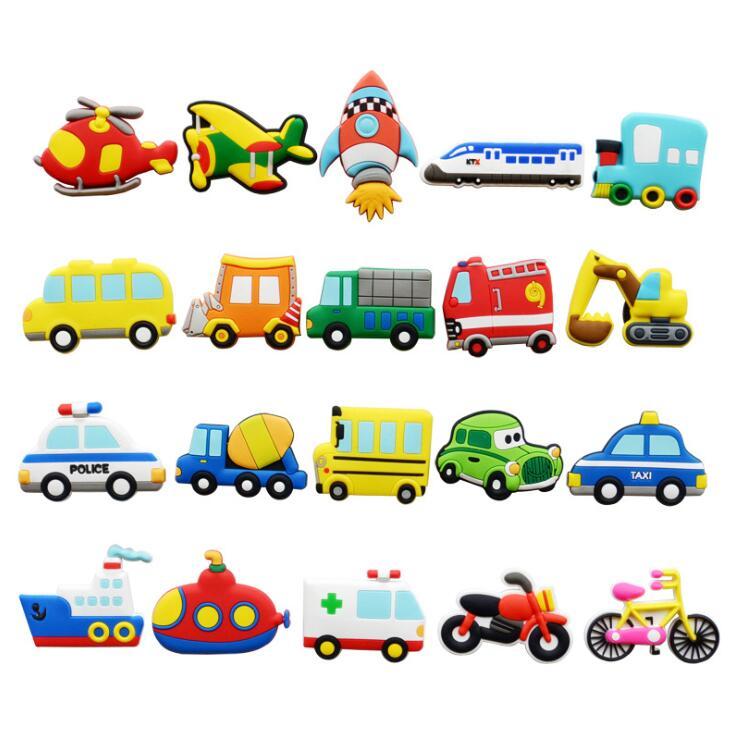 Imán para nevera, avión, coche, imán para niños, pegatina magnética, juguete para desarrollar la inteligencia, dispositivo de pizarra blanca para estudiantes