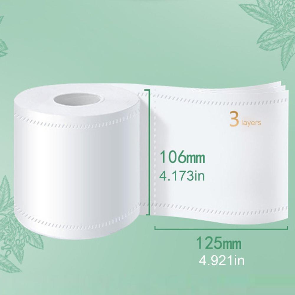 2020 Лучшие Продавцы 1/6 рулонов стандартная 3-слойная туалетная бумага оптом рулонов для ванной ткани Бытовая ванная комната мягкое бумажное ...