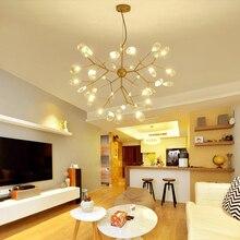 Candelabro de fibra de rama nórdica post-moderno simple comedor lámpara personalidad creativa tienda avize salón moderno lustre