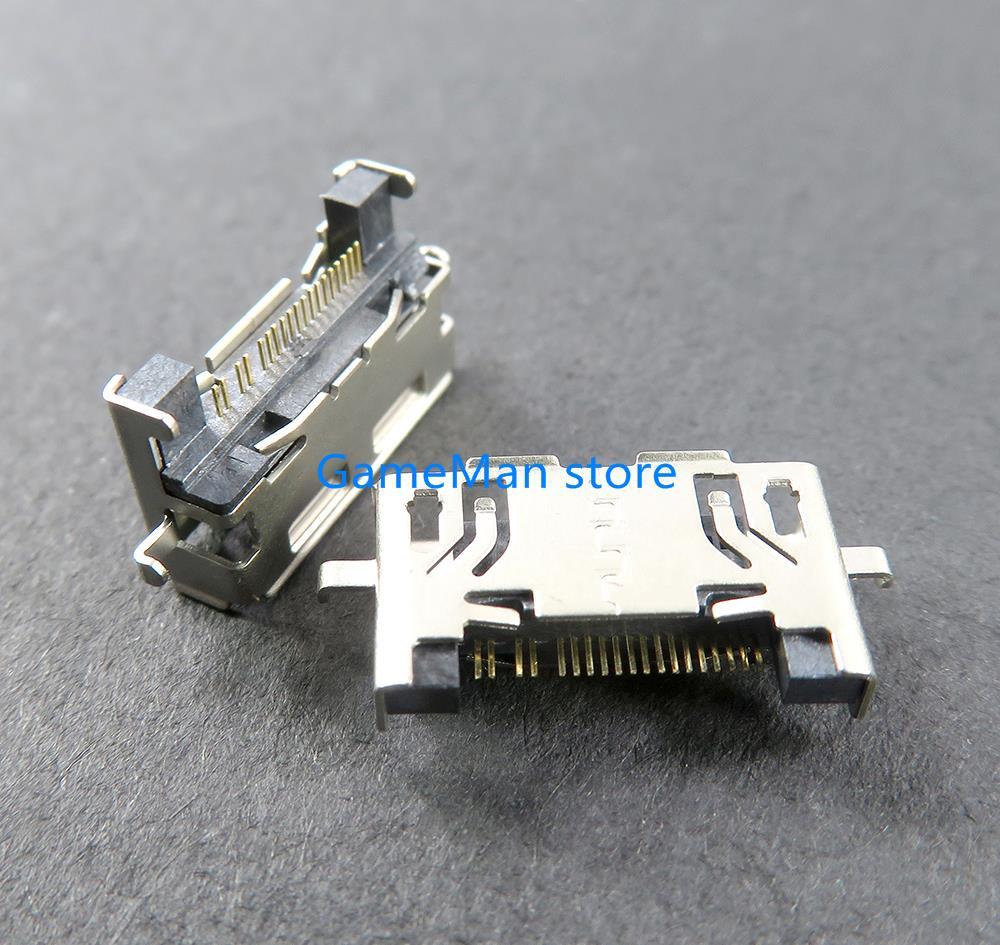 5 قطعة/الوحدة OCGAME جديد بيانات USB تهمة ميناء المقبس موصل الطاقة شاحن المقبس ل ps فيتا psvita psv1000 ايندهوفن 1000