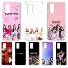 Black Pink Girl Korea Kpop hoesjes Transparent Phone Case For HUAWEI nove 5t p 8 9 10 p20 P30 p40 P pro Smart 2017 2019  Z lite