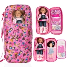 2020 New Born New Baby Doll Accessories Colorful Doll Backpack Suit For Baby Birthday Festival Gift