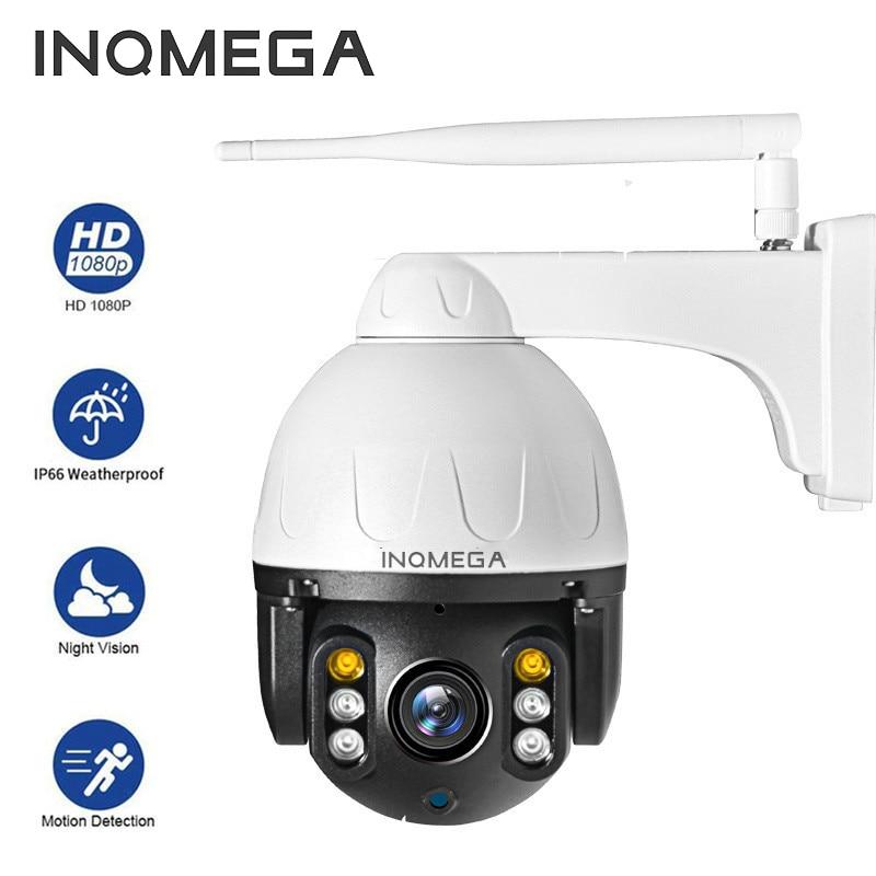 INQMEGA-cámara de seguridad PTZ para exteriores, videocámara IP HD de 1080P, WIFI,...