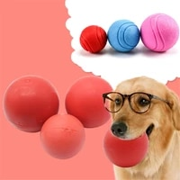 567cm dog toy interactive rubber ball bite resistant dogs puppy teddy pitbull teeth cleaning chew balls toys pet supplies