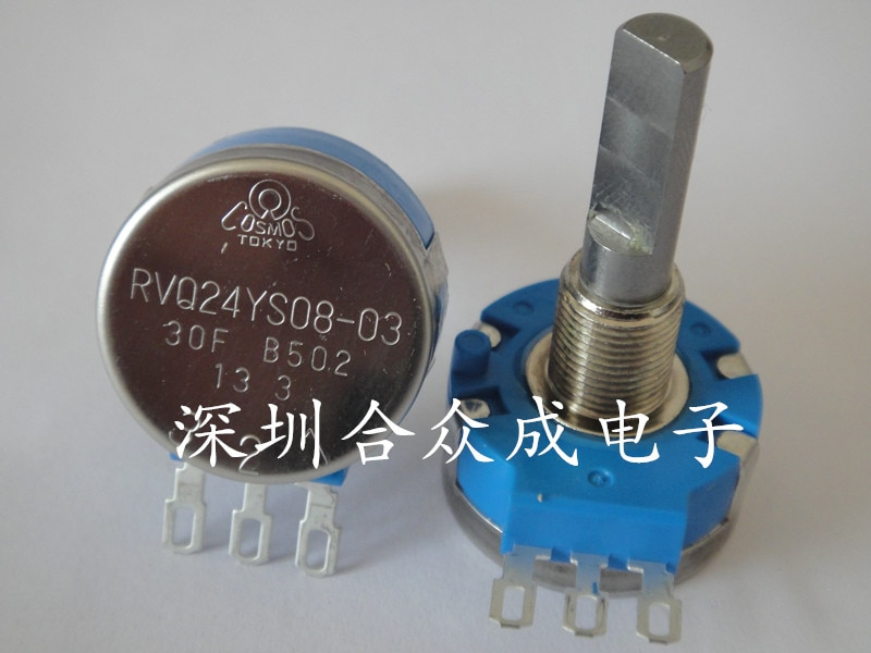 [YK] الأصلي TOCOS صغيرة زاوية الجهد RVQ24YS08-03 20F B502 20S B5K سكوتر التبديل