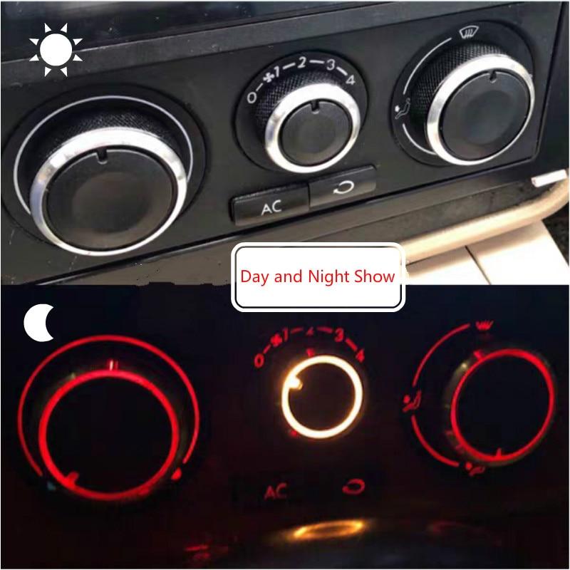 Perilla de Control de climatización de calentador de CA, botones de cambio...