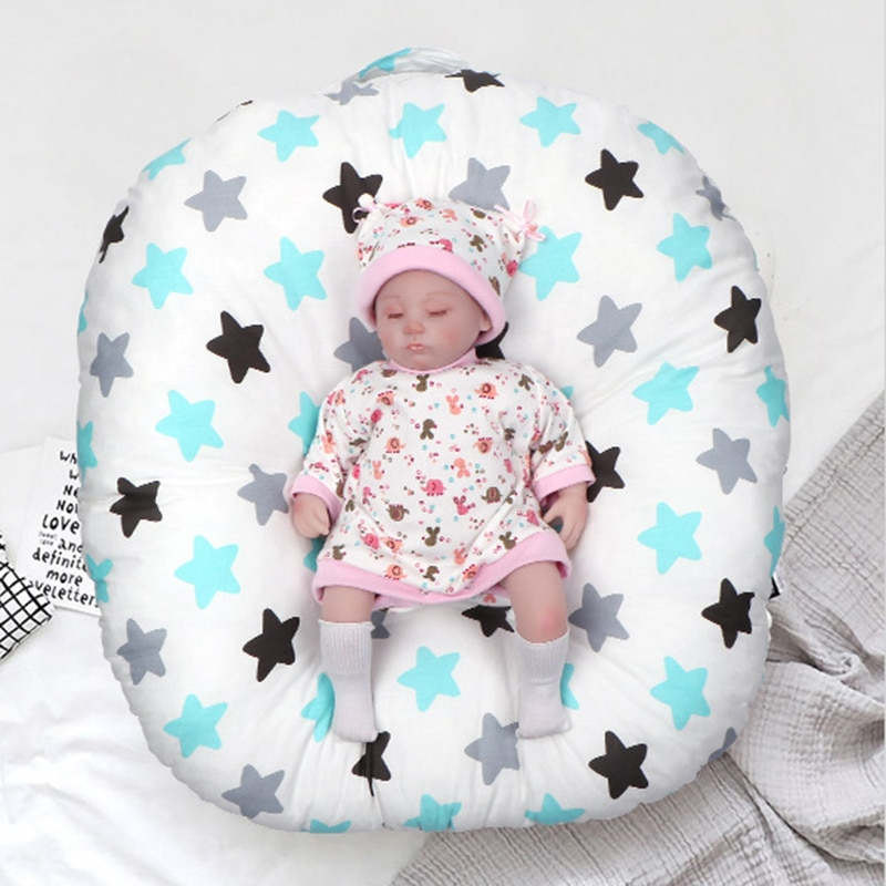 Baby Newborn Anti-vomiting Milk Pad Pillow Sit Cushion Toddler  Sleeping Pad Infant Room Bed Breathable Can Be Wash By Machine