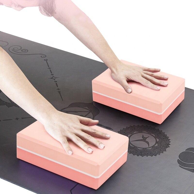 Блок йоги EVA Brick Упражнение Фитнес инструмент упражнения тренировка Растяжка