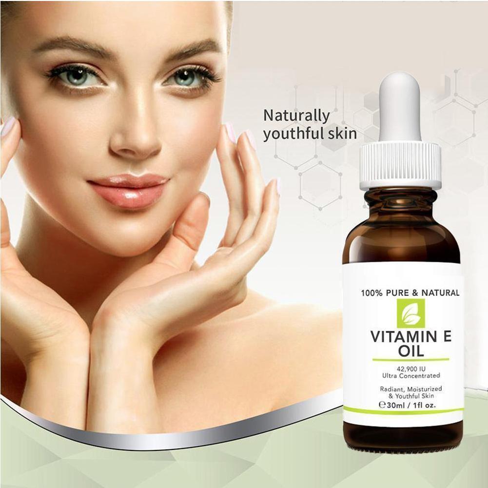 10ml/30ml Vitamin E Oil Moisturizing And Brightening Care Skin Best Moisturize Massage Skin E Vitamin Essential Oils Q3C7